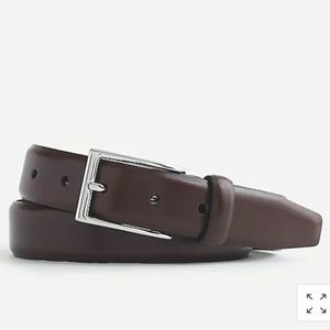 J.Crew Italian leather dress belt
